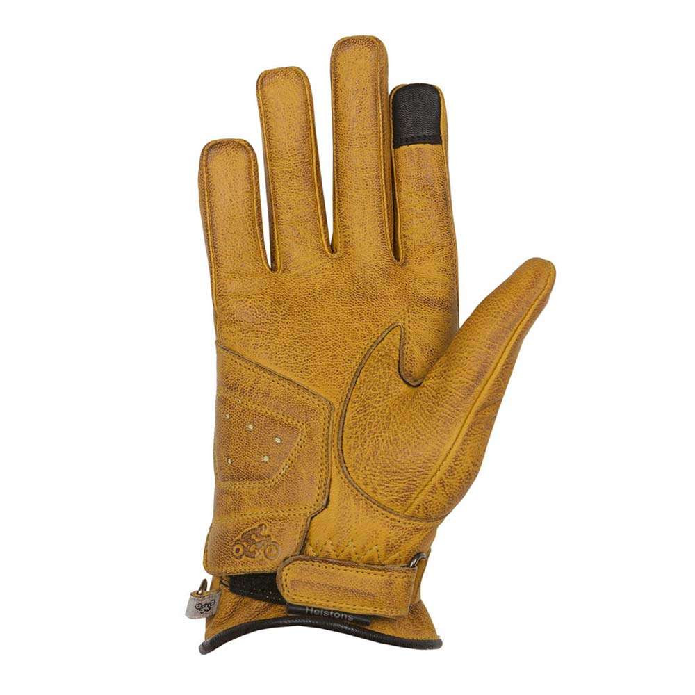 Helstons Panther Womens Gloves - Gold