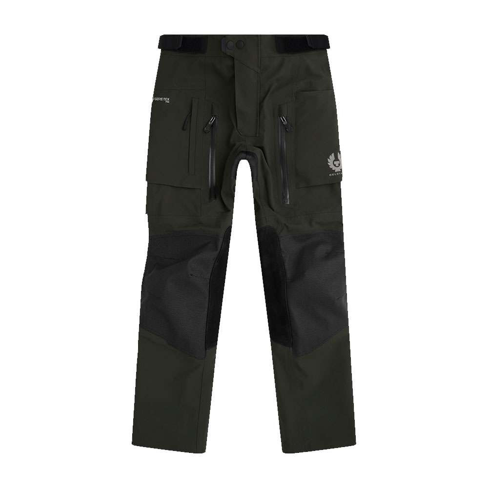 Belstaff Long Way Up Textile Trousers - Dark Olive
