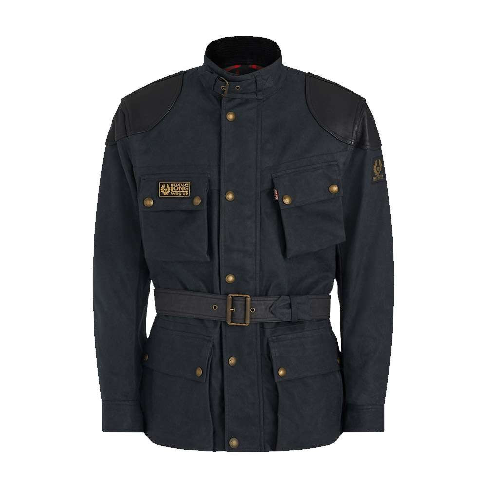 Belstaff McGregor Pro Wax Cotton Jacket - Vintage Black