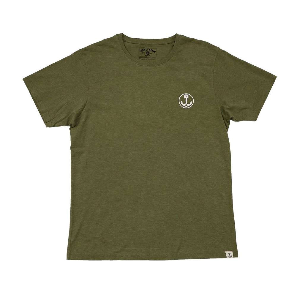 Iron and Resin On The Road T Shirt - Olive