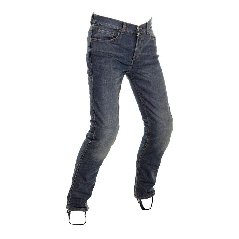 Richa Original Slim Jeans - Stonewashed Blue