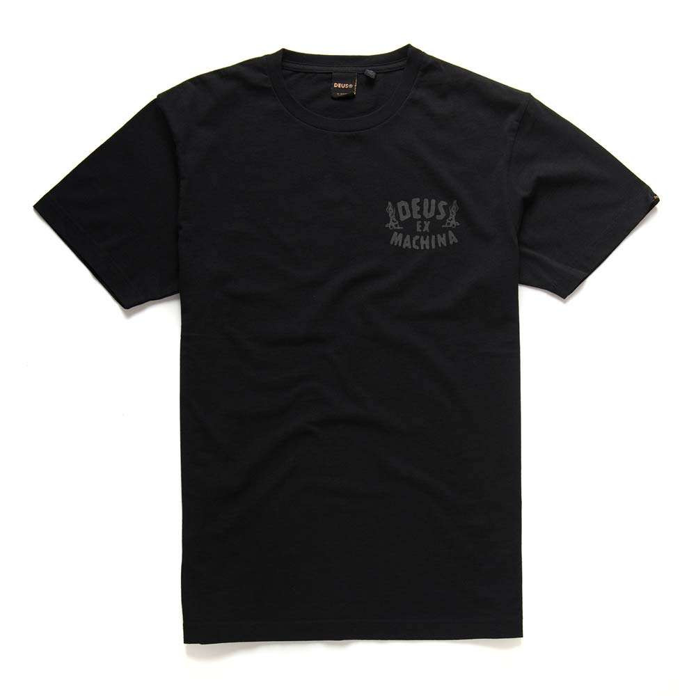 Deus Ex Machina Praise T Shirt - Black