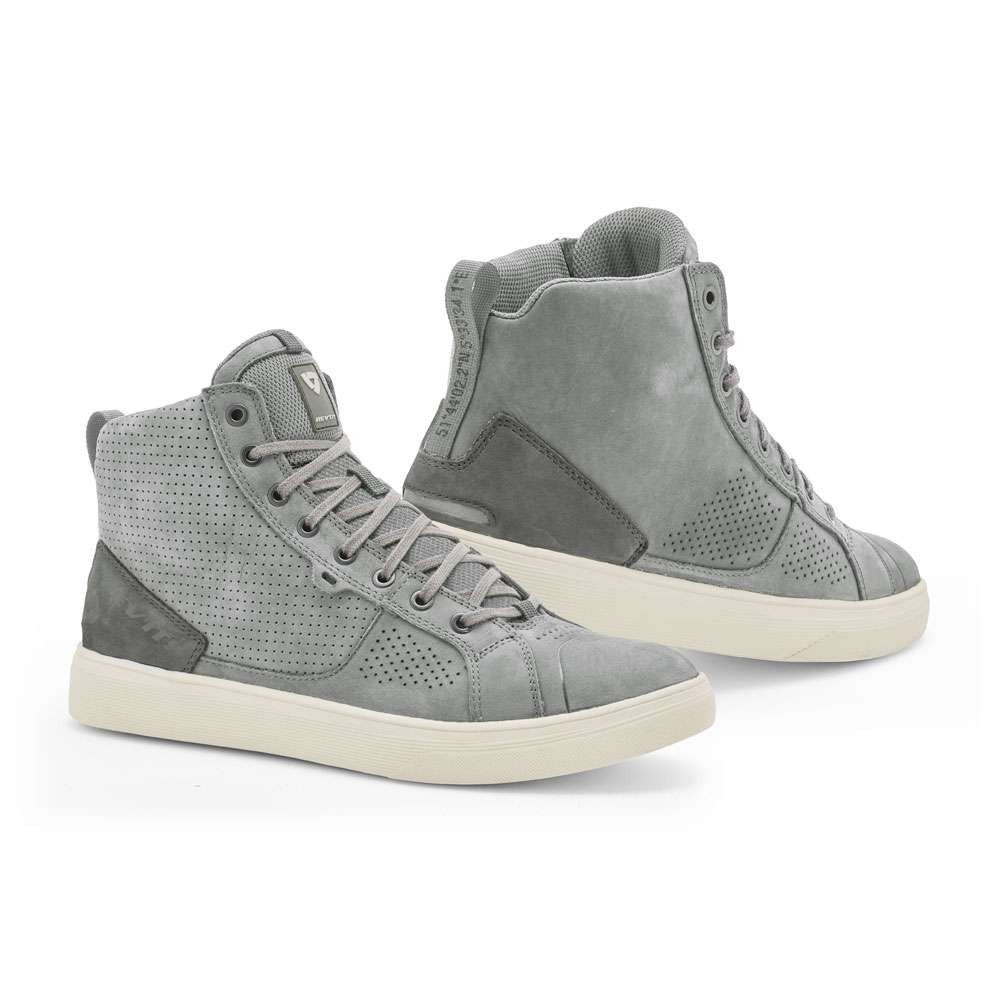 REV'IT Arrow Riding Trainers / Boots - Light Grey / White
