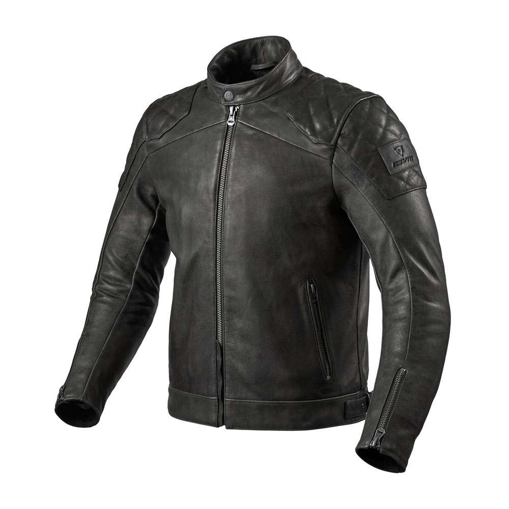 REV'IT Cordite Leather Jacket - Black