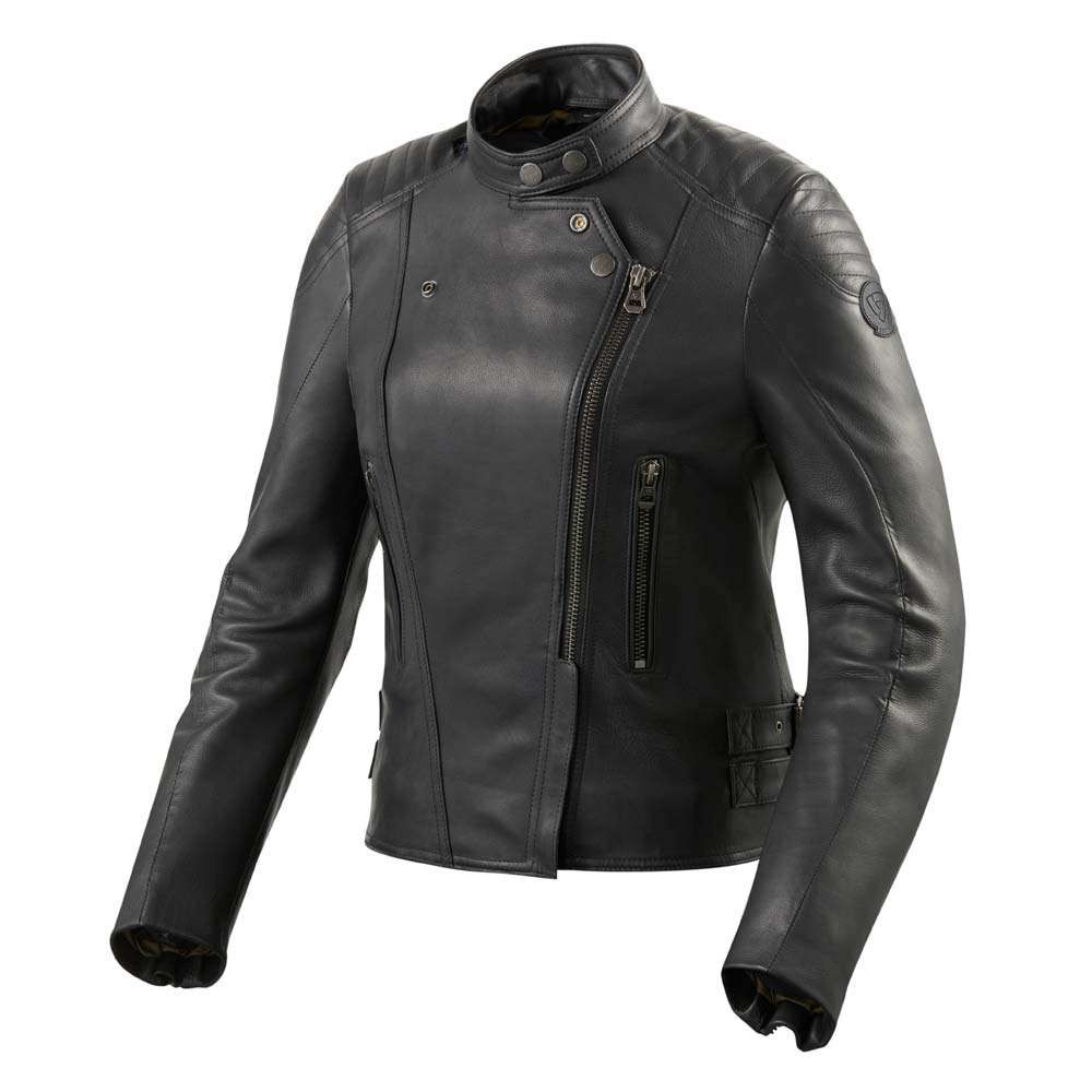 REV'IT Erin Ladies Leather Jacket - Black