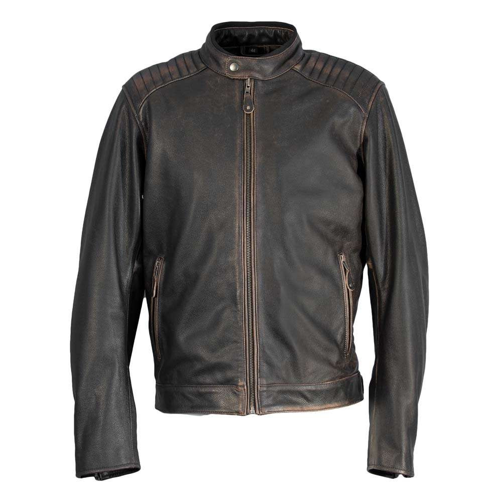 Richa Harrier Leather Jacket - Brown