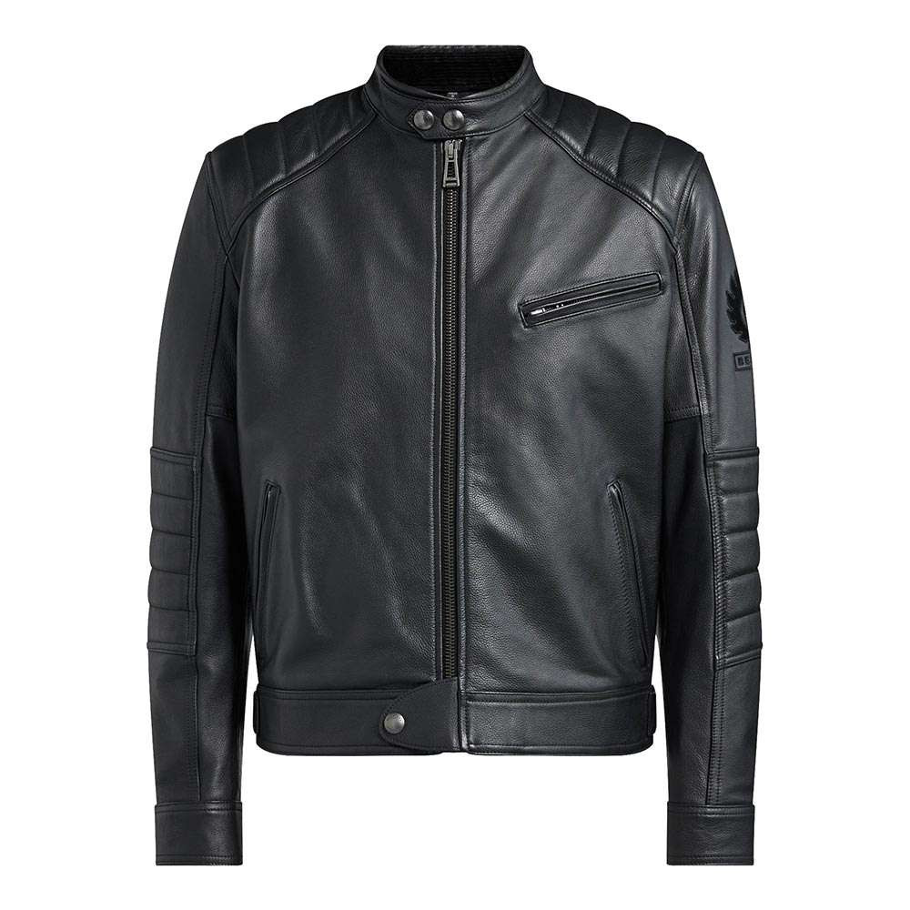 Belstaff Riser Leather Jacket - Black