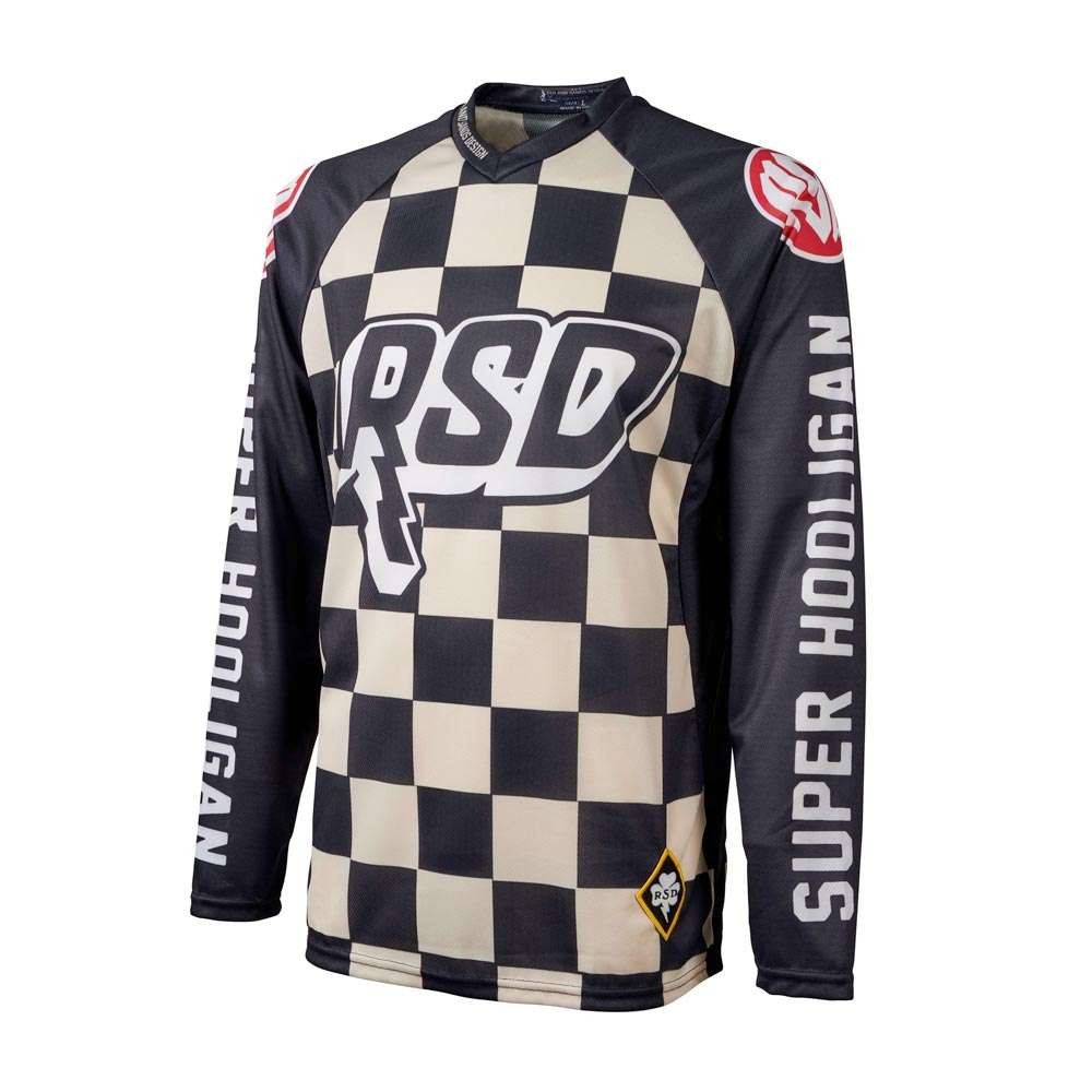 Roland Sands Design Hooligan Race Jersey - Checkers