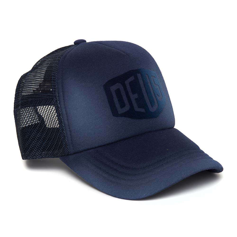 Deus Ex Machina Sunny Shield Trucker Cap - Navy