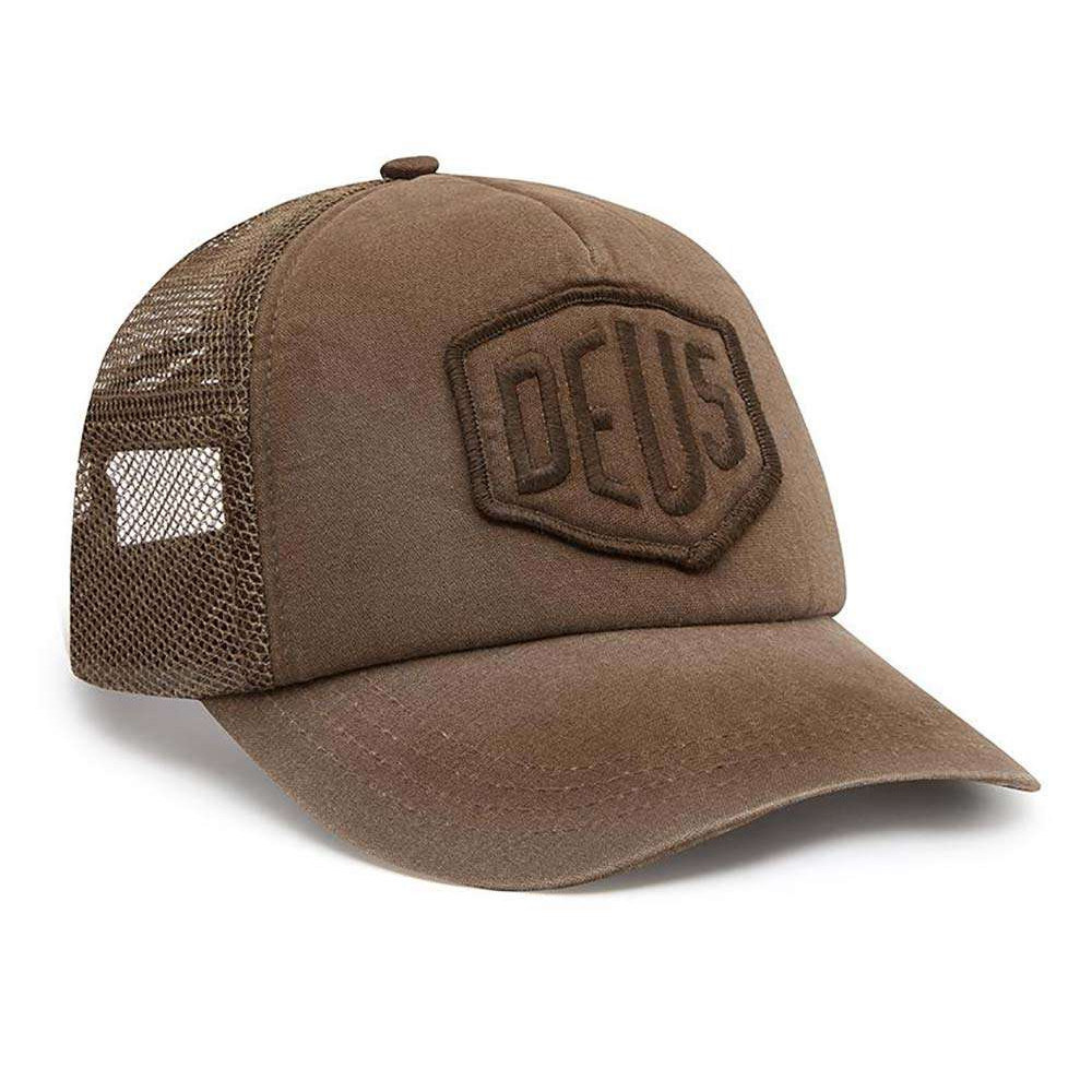 Deus Ex Machina Shield Trucker - French Roast
