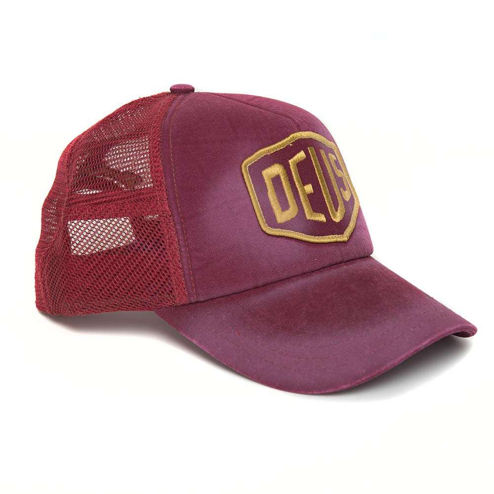 Deus Ex Machina Shield Trucker - Rumba Red