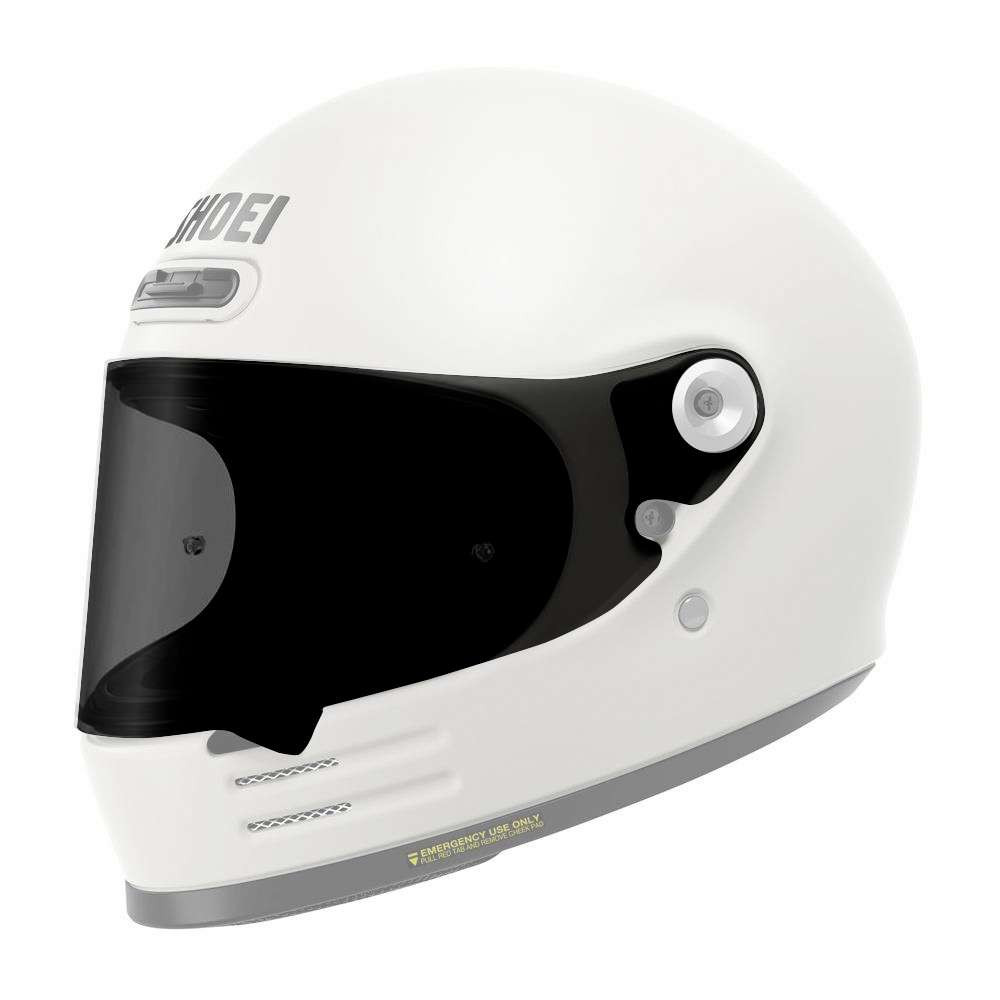 Shoei Glamster Aftermarket Visor - Smoke