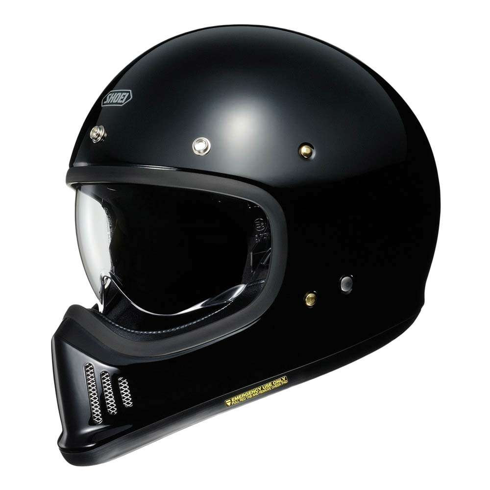 Shoei EX-Zero Helmet - Gloss Black
