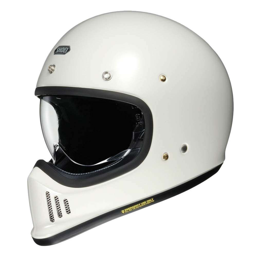 Shoei EX-Zero Helmet - Off White