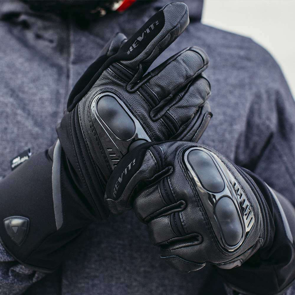 REV'IT Sirius 2 H2O Gloves - Black