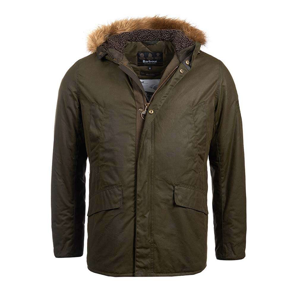 Barbour International Sub Wax Jacket - Archive Olive