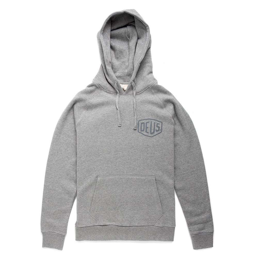 Deus Ex Machina Venice Address Hoodie - Grey Marle