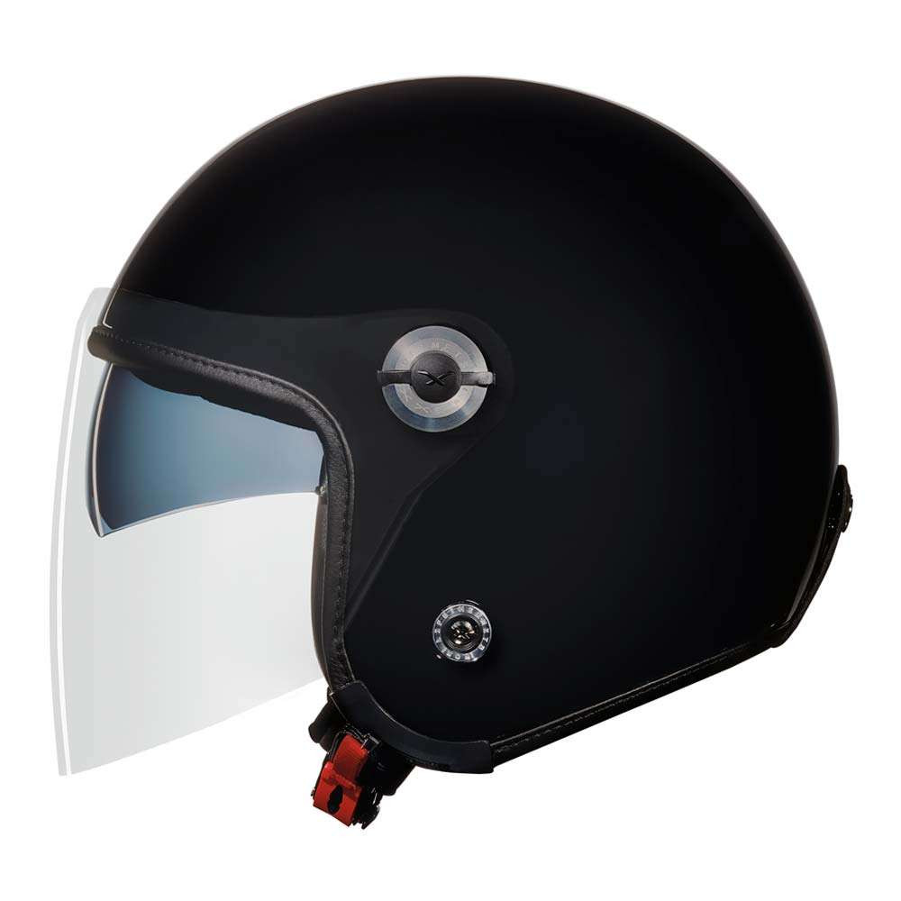 Nexx X70 Plain Helmet - Black