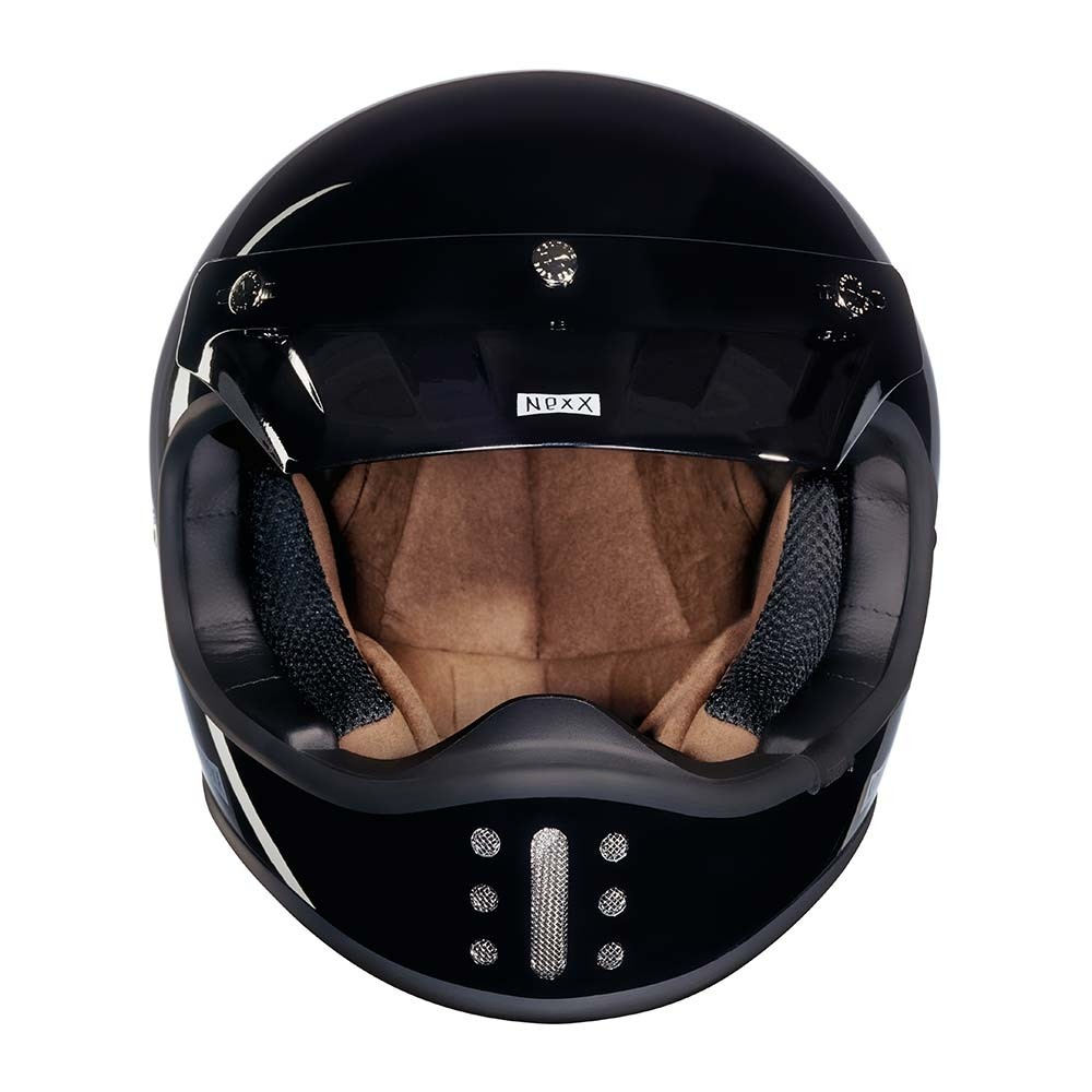 Nexx XG200 Purist Helmet - Black Full