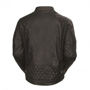 Roland Sands Design Clash Leather Jacket - Black