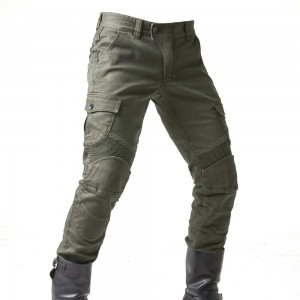 uglyBROS Motorpool Motorcycle Trousers - Solid Olive