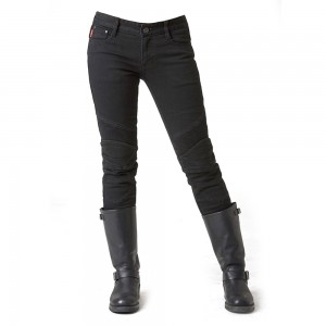 uglyBROS Twiggy Womens Motorcycle Jeans - Black