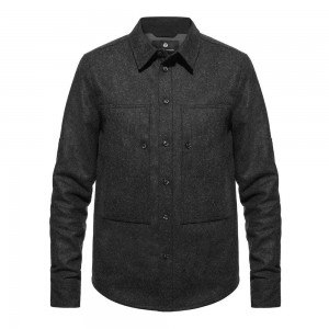 Ashley Watson Hockliffe Overshirt - Charcoal