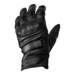 Roeg Baxter Leather Gloves - Black