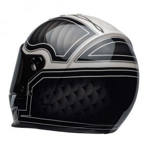 Bell Eliminator Helmet - Outlaw Black / White