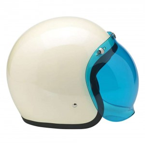Biltwell Anti-Fog Bubble Visor Shield - Blue