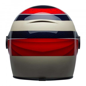 Bell Bullitt Carbon Helmet - Hustle Red / Sand / Candy Blue