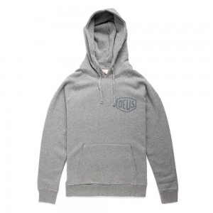 Deus Ex Machina Camperdown Address Hoodie - Grey Marle