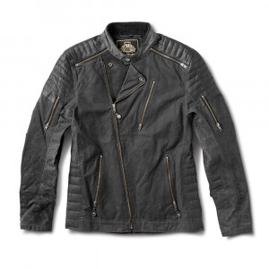 Roland Sands Design Casbah Waxed Cotton Jacket - Black