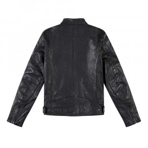 Deus Ex Machina Damager Leather Jacket - Black
