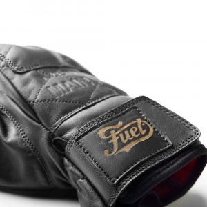 Fuel Motorcycles Diamond Gloves - Black