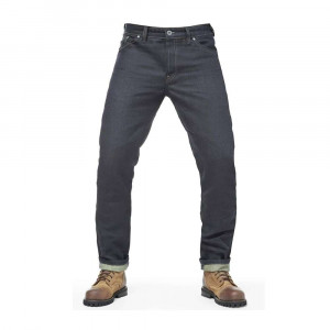 Fuel Motorcycles Greasy Collection Aramid Denim Jeans - Blue