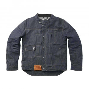Fuel Motorcycles Greasy Collection Aramid Denim Jacket - Blue