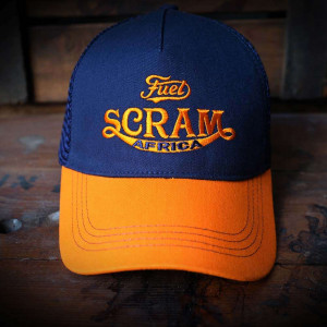 Fuel Motorcycles Scram Africa Cap - Blue / Orange