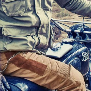 Fuel Motorcycles Sergeant Trousers - Sahara
