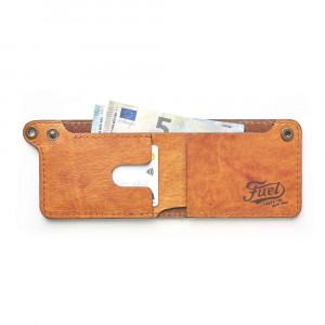 Fuel Motorcycles Wallet - Soul Orange