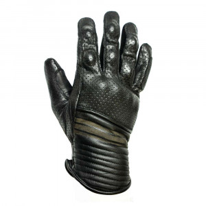 Helstons Corporate Perforated Gloves - Black
