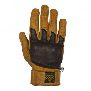 Helstons Wolf Gloves - Gold / Brown