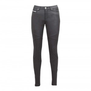 John Doe Betty Biker Protective Jeggings - Black