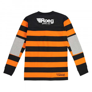 Roeg Jeff D-Track Jersey Sweatshirt - Orange / Black
