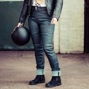 Resurgence Gear Warrior Ultralight Ladies Jeans - Blue / Black