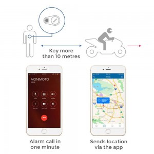 Monimoto Smart GPS Motorcycle Alarm