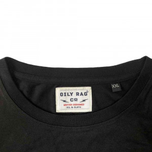 Oily Rag Clothing Black Label Motorcycle Chapter T Shirt - Black