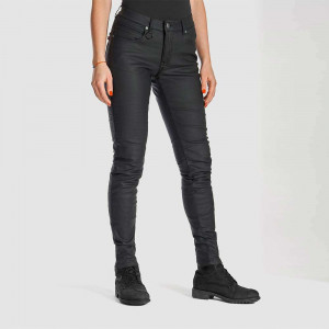 Pando Moto Lorica Womens Skinny Fit Protective Motorcycle Jeans