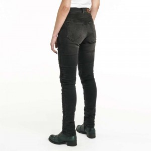 Pando Moto Rosie Ladies Motorcycle Jeans - Devil