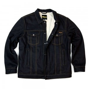 Roeg Jack Denim Jacket - Sticky Blue